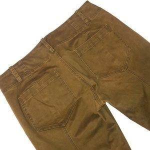 A.L.C Slim Utility Olive Khakis cargos Pants green